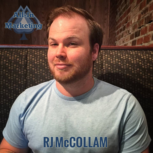 RJ McCollam on The All-In Marketing Podcast