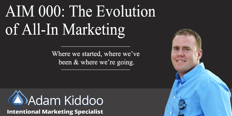 AIM 000: The Evolution of All-In Marketing