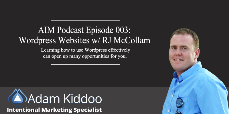 AIM 003: WordPress Websites w/ RJ McCollam